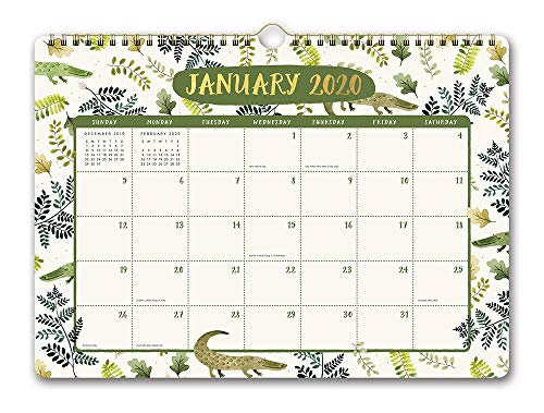 Orange Circle Studio 2020 Deluxe Wall Calendar, August 2019 - December 2020, Stay Magical Unicorns