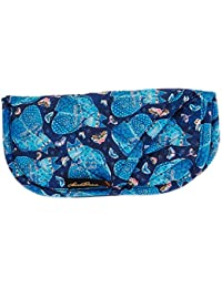 Indigo Cats Quilted Eyeglass Pouch Case Holder