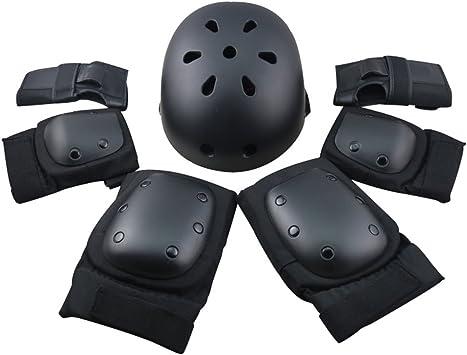 F&U Adultos jóvenes Kids Protective Gear – Juego de Rodilleras ...