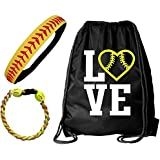 Kenz Laurenz Softball Headband Set - Leather...