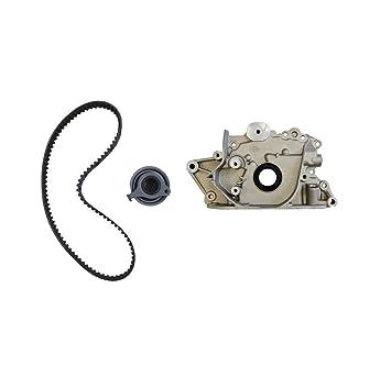 Hyundai Atos 1.0 1.1 L SOHC Motor Kit de Correa de distribución y bomba de aceite Set: Amazon.es: Coche y moto