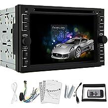 "Car GPS Car DVD Player Radio Stereo NEW !6.2"" 2 DIN IN Dash 6.2 inch Headunit Touch BT iPod USB FM AM Video PC SD GPS Na"