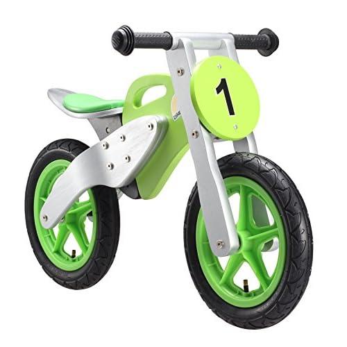 ed5a74db1e342 haute qualité Bikestar Vélo Draisienne Enfants en Bois pour Garcons et  Filles DE 3-4