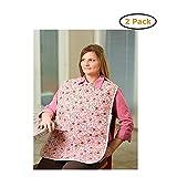 Waterproof Shirt Saver Bib - Size -Standard (27'' x 17'') - Pack of 2