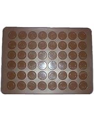 Longzang 48-Capacity Macarons Mat Baking Mold