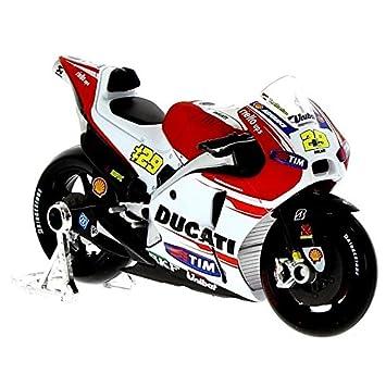 Ducati 1 esJuguetes Escala 18Amazon Miniatura Moto Juegos Iannone Y c5Rq4j3AL