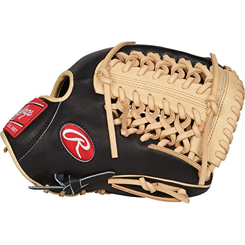 Rawlings PROR205-4BC Heart of The Hide - R2G, Black/Camel, 11.75