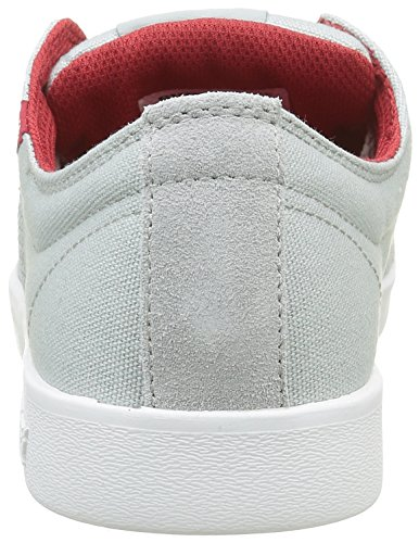 Supra Herren Stacks II Low-Top, Grau (Light Grey / Red-White 040), 41 EU