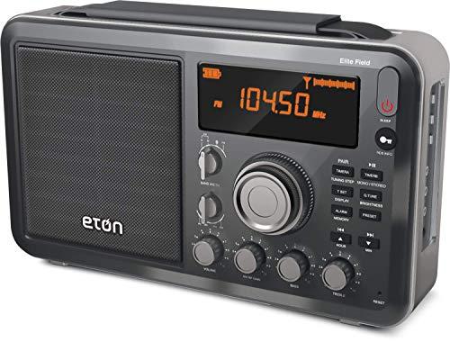 Eton Am/FM/Shortwave Desktop Radio with Bluetooth
