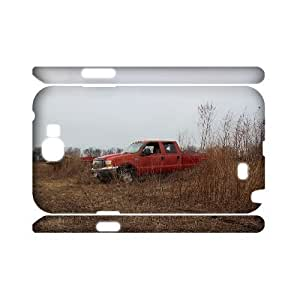 Custom Automobiles Case for Samsung Galaxy Note 2 N7100 with abandon ford yxuan_9772411 at xuanz