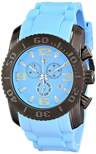 Swiss Legend Men's 10067-GM-012 Commander Analog Display Swiss Quartz Blue Watch
