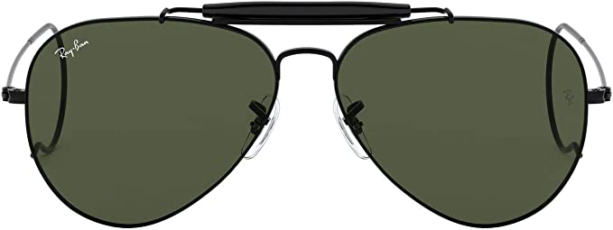 lunette homme ray ban aviator noire