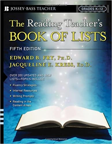 The Reading Teacher's Book Of Lists: Grades K-12, Fifth Edition ...