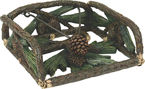 - River's Edge Products Pine Cone Napkin Holder