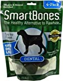 SmartBones Dental Dog Chew, Medium, 4-Pack, My Pet Supplies