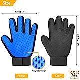 Pet Grooming Gloves Kit- Pair - 50 Sheet Lint