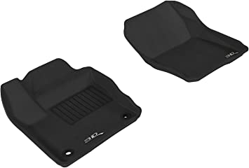 Kagu Rubber Gray 3D MAXpider Complete Set Custom Fit All-Weather Floor Mat for Select Ford Focus Models