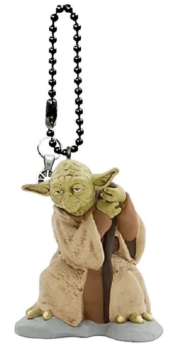 Amazon.com  Disney s Star Wars Yoda Keychain Dangler  Shoes c92bbc63e