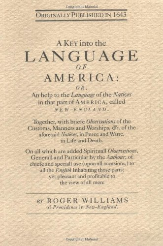 Key into the Language of America by Brand: Applewood Books