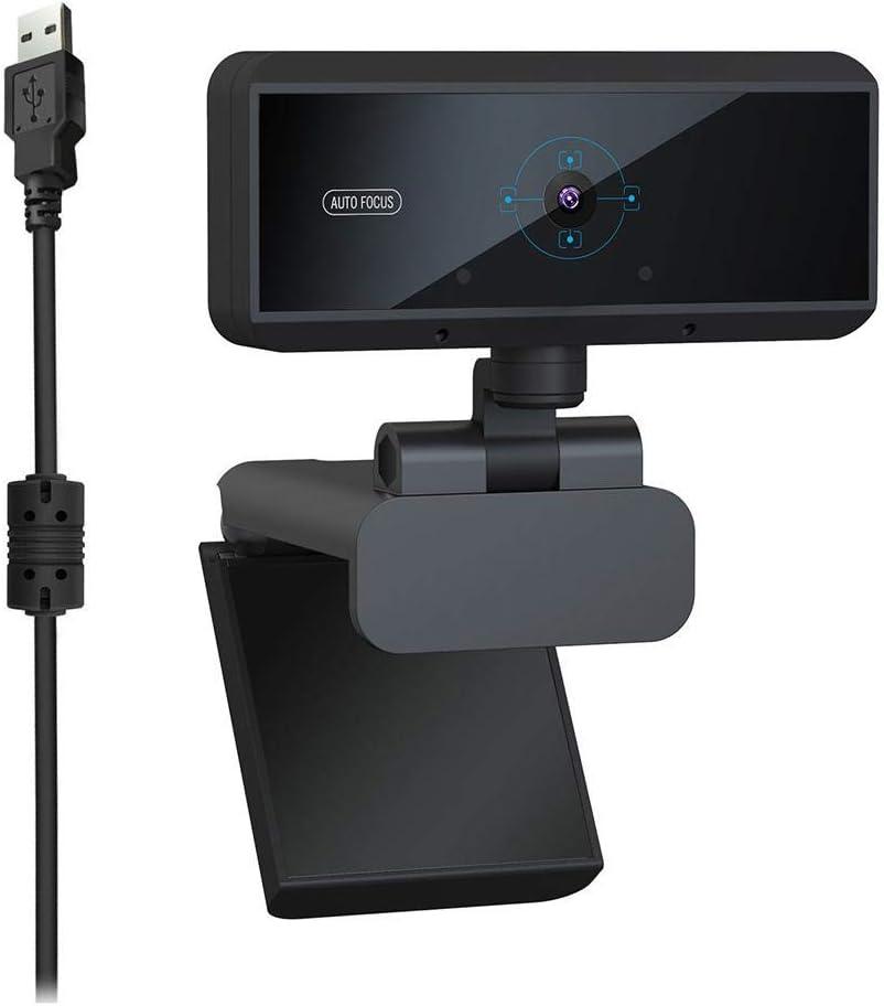 Microphone int/égr/é avec autofocus Rapide HD 5 MP Tonysa Webcam HD fr/équence dimages 30 IPS Appel Vocal Clair cam/éra Web cam USB HD PC 2592 x 1944 pour Net Meeting//MSN//Yahoo//Skype
