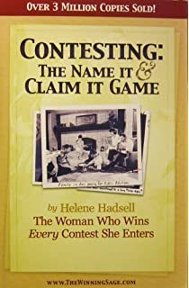 HELENE HADSELL THE NAME IT AND CLAIM IT GAME PDF