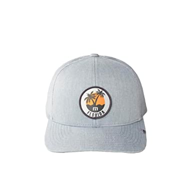 Amazon.com  Travis Mathew Sunshine State (Florida) Snapback Hat ... 1c3d524fc590