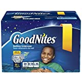 Health & Personal Care : GoodNites Bedtime Pants for Boys Size Large/Extra Large 34 Count, New!!!