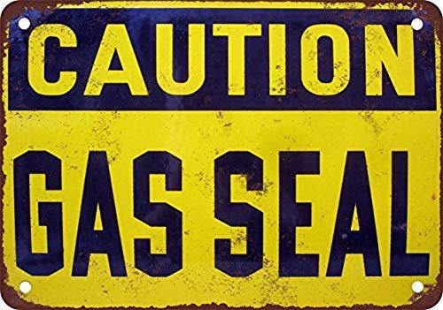 注意ガスシール 金属板ブリキ看板警告サイン注意サイン表示パネル情報サイン金属安全サイン