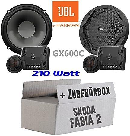 Jbl Gx600c 2 Wege 16cm Lautsprecher System Einbauset Für Skoda Fabia 2 5j Front Heck Just Sound Best Choice For Caraudio Navigation
