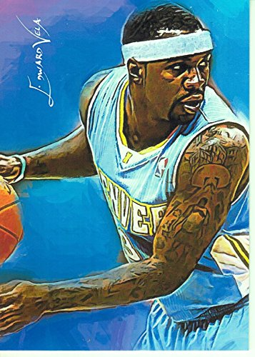 Ty Lawson #1- #5/5 - SUPER RARE- Sacramento Kings -FINAL CARD in Series of 5- Limited Edition Original Artwork Sketch Card- BUY IT NOW OR MAKE AN OFFER (Stadium Collection Artwork)