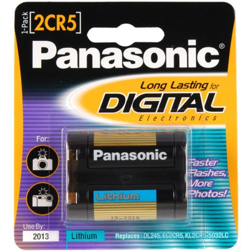 Panasonic - 2CR5 Photo Lithium Battery Retail Pack - Single