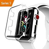 Apple Watch Series 3 Case, Benuo [Defender Series] Protective HD Clear PC Screen Protector [Ultra Thin], Lifetime Replacements Cover Case for Apple Watch Series 3/Edition/Nike+ 42mm