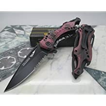 Tac Force Purple camo with Incredible Unique design pocket knife