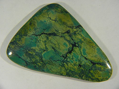 Genuine Natural Chinese Turquoise Lapidary Freeform Cabochon 9503C h