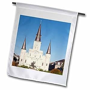 Danita Delimont–arquitectura–nosotros, nueva Orleans. St Louis Catedral en Jackson Square–banderas