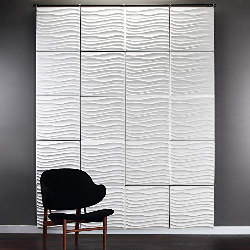 Inhabit Current Wall Flat Hanging System - 3D Textured Wall Panels ()