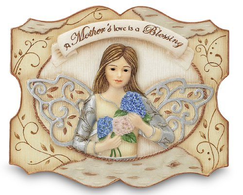 - Pavilion Gift Company Elements 3-1/2-Inch by 4-Inch Self Standing Plaque, Mother