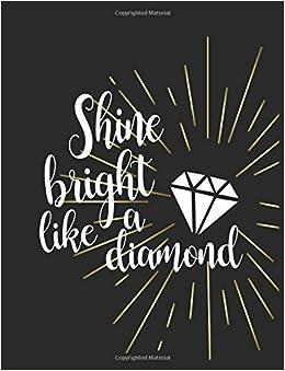 Shine bright like a diamond, Mix 90P Dotted grid 20P Lined ...