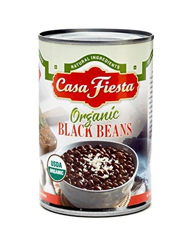 - Casa Fiesta Organic Black Beans 15oz 12 pack