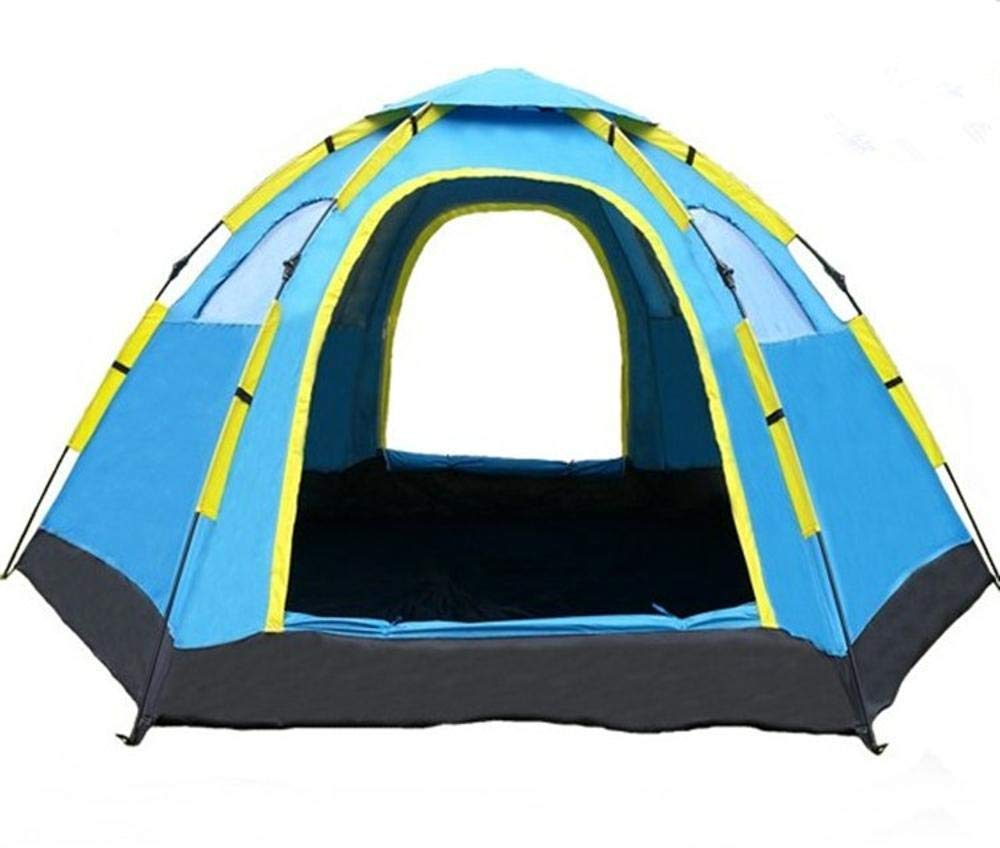 Lxj Outdoor-Zelt im Freien 6-8 Multiplayer-automatische Zelt Camping Camping Reisen Erdbeben Hex großes Zelt spezielle 305  240  h145cm
