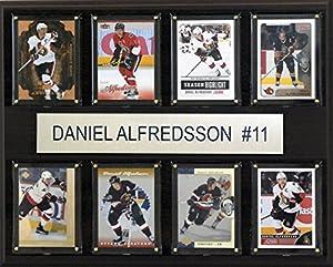 NHL Ottawa Senators Daniel Alfredsson 8-Card Plaque, 12 x 15-Inch