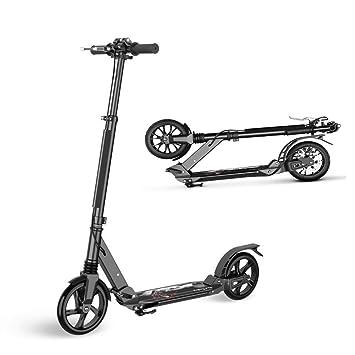 Amazon.com: K&G - Patinete para adultos con 2 ruedas grandes ...