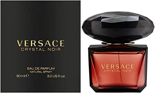 Versace Crystal Noir Gianni for Women Eau de Parfum Spray, 90ml