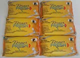 Forever Fresh Bamboo Wet Wipe 6 Resealable Peel Tab Packs, 60 Wipes Per Pack, Total of 360 Wipes (.07 a Wipe)