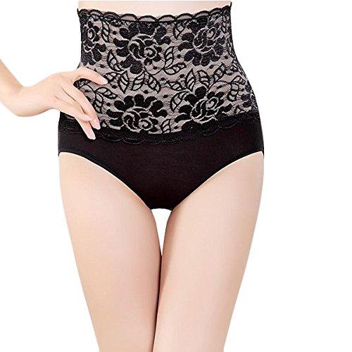 5cbb0c7f2e68a Aaram Women s Lace Panty Tummy Tucker (Black)  Amazon.in  Clothing ...