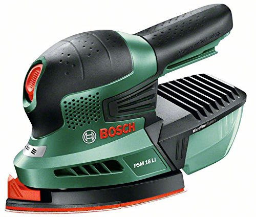 Price comparison product image 18 V PSM 18 LI Power4All Cordless Multi-Sander - supplied without battery