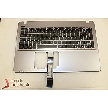 Asus 90NB00T1-R31IT0 Teclado Refacción para Notebook - Componente para Ordenador Portátil (Teclado, X550CC (K550CC, F550CC, R510CC), X550CA (P550CA, R510C, ...