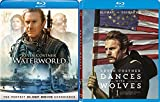 Dances With Wolves (25th Anniversary Edition) + Waterworld Blu Ray Kevin Costner 2 Pack Epic Movie Action Set