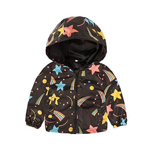 Price comparison product image SMALLE Clearance, Toddler Kids Baby Grils Boys Long Sleeve Cartoon Print Hooded Coat Tops Outfits