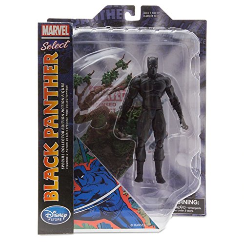 """Disney Marvel Select Black Panther 7"""" Action Figure (Special Exclusive Edition)"""